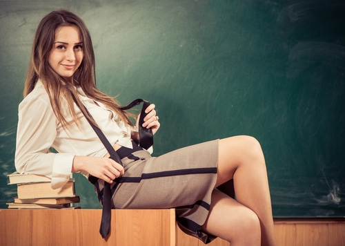 Telefonsex mit Lehrerin